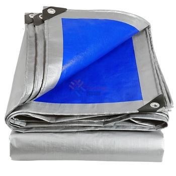 180GSM szary niebieski odblaskowe słońce cieniowanie wodoodporne plandeki ogród dziedziniec cieplarnianych deszcz pokrywa ochronna samochód plandeki tanie i dobre opinie CN (pochodzenie) Niepowlekany Altany SC-NNJ-023 iron Gray and Blue 2mx2m 2mx3m 2mx4m 3mx3m