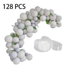 128 шт 10 дюймов латексная серая холодная полоска для воздушных шаров, набор для вечеринки, дня рождения, свадьбы, комнаты, воздушный шар, набор воздушных шаров