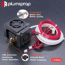 Cr10 j-head hotend + 4010 40mm ventilador de refrigeração + braket + x eixo movendo parte do transporte para ender 3 3d impressora 2020 v sulco perfil