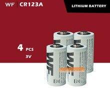 4 X CR123A CR123 CR 123 123A 16340 литий Батарея 3V mbic#1768
