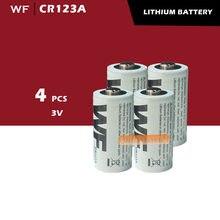 4 X CR123A CR123 CR 123 123A 16340 bateria litowa 3V MBIC #1768