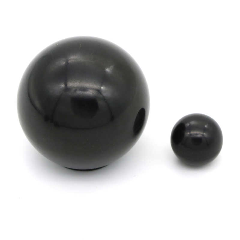 6 rozmiary gwint z tworzywa sztucznego zacisk rdzeń miedziany gałka w kształcie piłki głowy nakrętki mocujące gałka M4/M5/M6/M8/M10 1 sztuk
