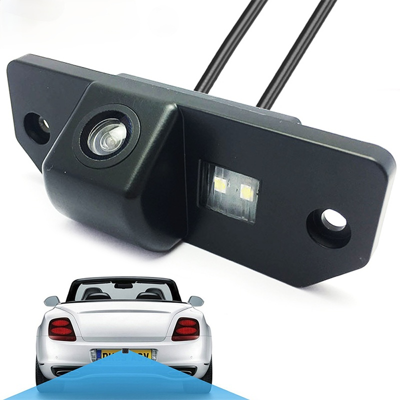 Waterproof Car Rear View Camera 170 Degrees Wide Angle Reverse Parking Backup Camera for Ford Focus 2 Sedan 2005 2011 C Max