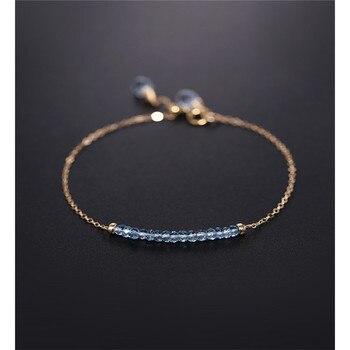 DAIMI Sky Blue Topaz Bracelet
