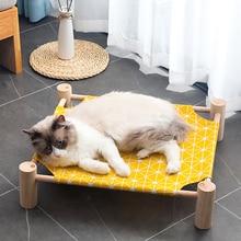 Cat Hammock Cushion Nest Pet-House Kitten-Mat Foldable Breathable Seat Waterproof Cotton
