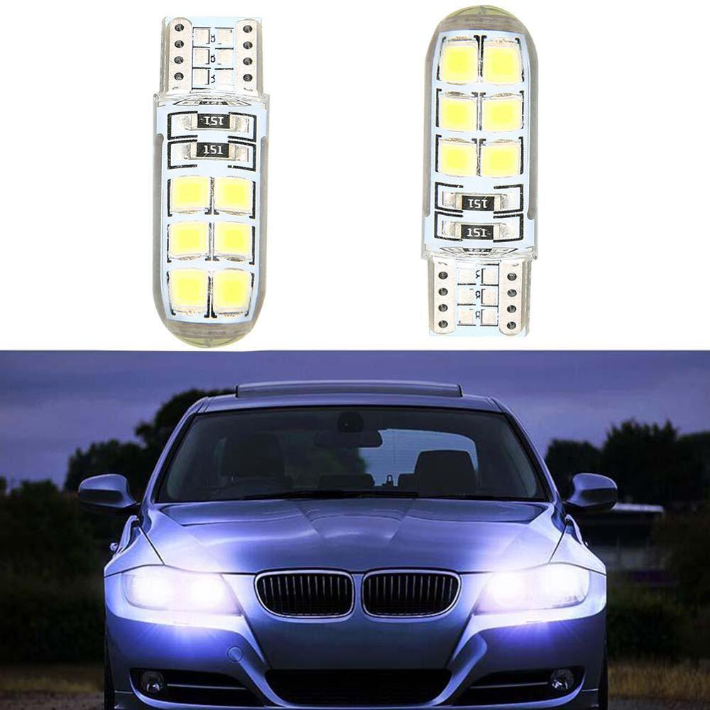 Car <font><b>12</b></font> <font><b>SMD</b></font> LED Light Bulbs Car DC 12V Super Bright License Light Bulb Car Turn signal Lamp Auto Car image