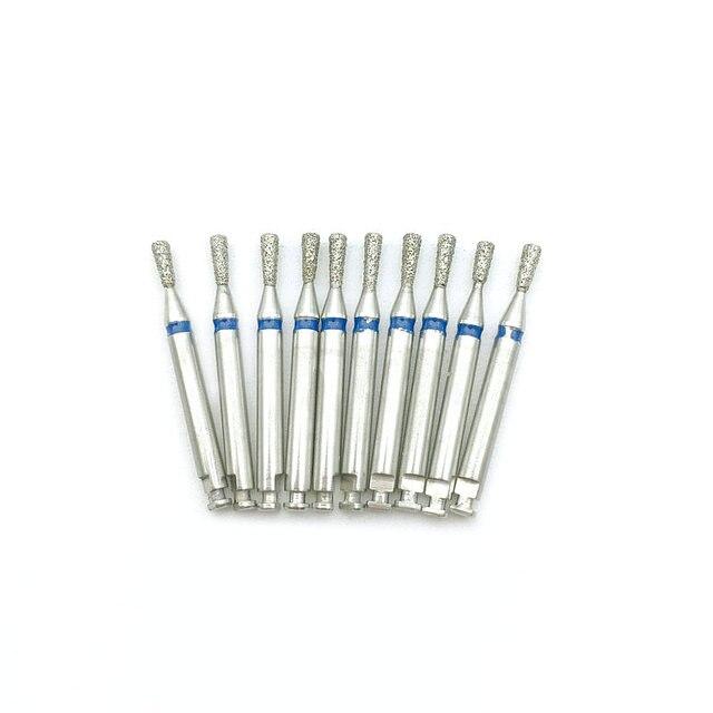 10Pcs Low Speed Dental Diamant Bohrer Dental Bohrer Bohrer Für 2,35mm Schaft Contra Winkel Handstück SI-R50