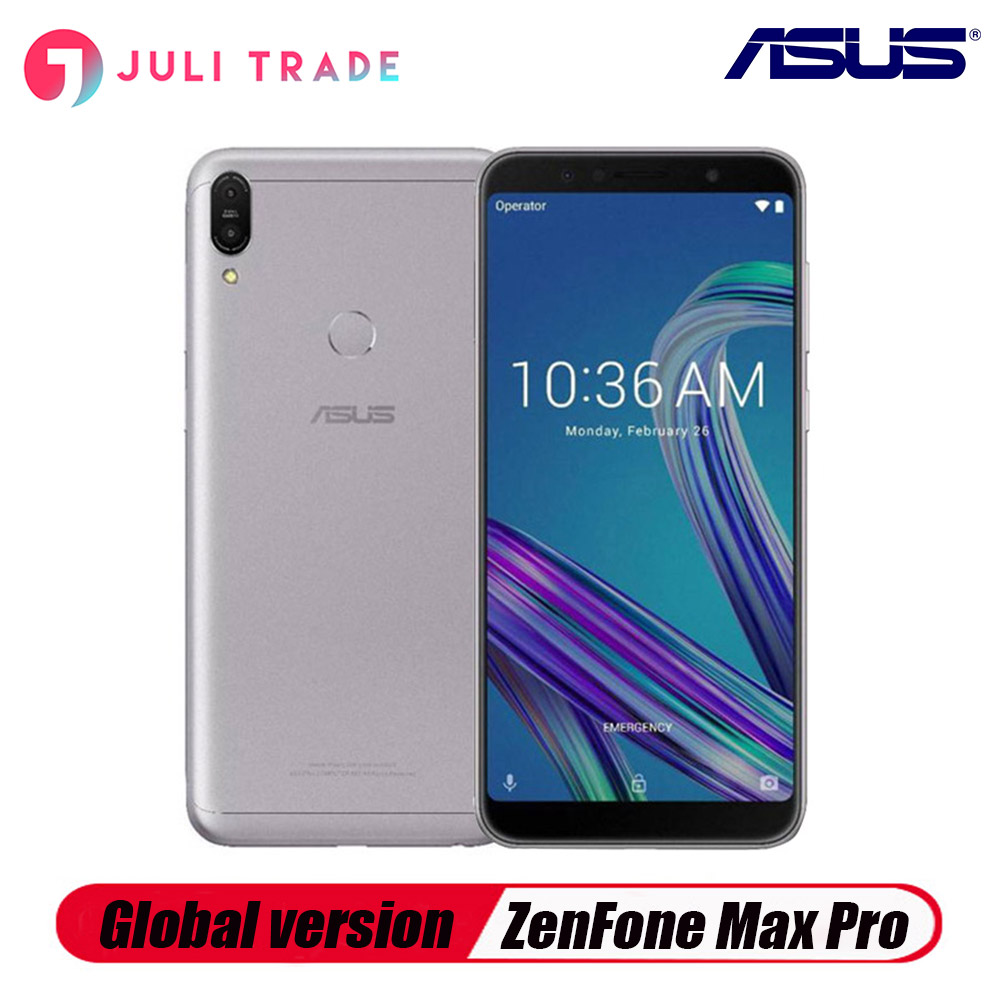 Global Version Asus ZenFone Max Pro M1 ZB602KL18:9 FHD Snapdragon 636 Android 8.1 Dual 16MP 5000mAh Touch 4G LTE Smartphone