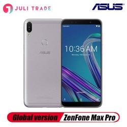 Перейти на Алиэкспресс и купить global version asus zenfone max pro m1 zb602kl18:9 fhd snapdragon 636 android 8.1 dual 16mp 5000mah touch 4g lte smartphone