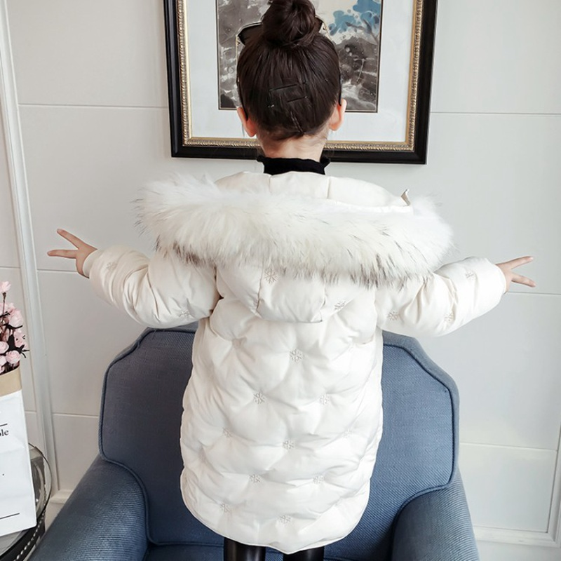 CROAL CHERIE Real Fur Outerwear & Coats Winter Jacket For Girls Children Winter Clothing Outerwear Coat Toddler Clothes (7)