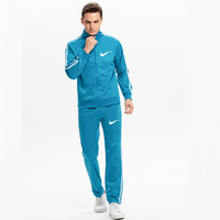 Genuine brand men's sportswear new spring and autumn men's sweatshirt + pants set casual men's sports suit