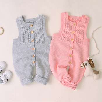 0-24M Newborn Kid Baby Boy Girl Knitted Romper Autumn Winter Warm Knit Sweater Jumpsuit Cute Sweet Knitwear New born Outfit baby girl bodysuits winter warm newborn boys one piece jumpsuits cute rabbit knit long sleeve body suits with legs sunsuit 0 24m