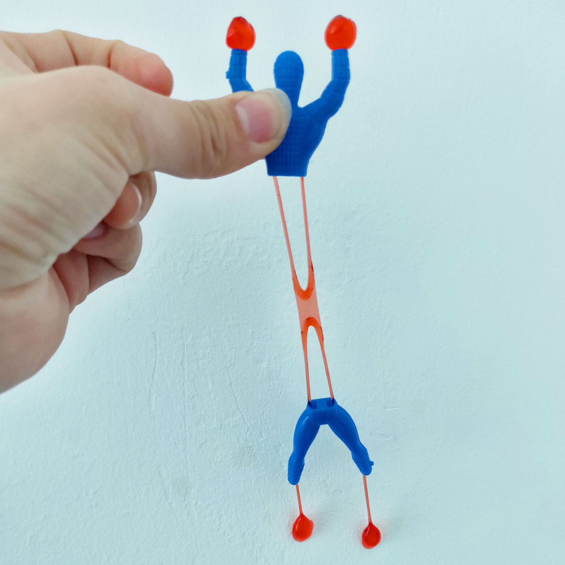 Interesting Climber Sticky Spiderman Superman 2 Yuan Shop Tradition Sensual Toys Funny Gift  Boys Toys For 10 Year Old  Pranks