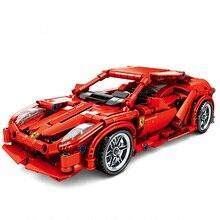 Technic Super Racing Car Racer Fit Legoinglys Technic F1 Sports car Building Blocks Bricks kids toys Gifts for boys children