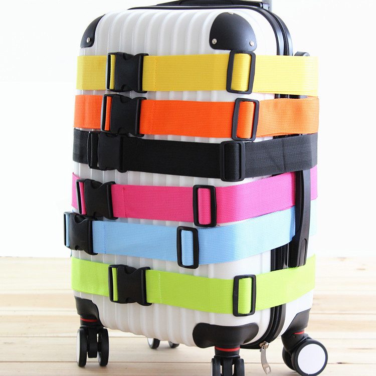 Регулируемый ремень для багажа для женщин и мужчин, дорожная сумка, аксессуары для чемоданов на колесиках, ремешок для багажа, поперечный ре...