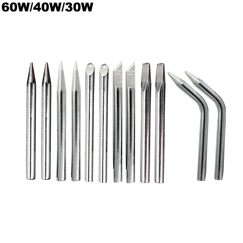Lead Free Soldering Iron Tip 30w 40w 60w For External Heat Soldering Irons B C D K Copper Sting Welding Tips