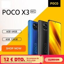 [Première vente Flash mondiale en Stock] POCO X3 NFC Version mondiale Snapdragon 732G Smartphone 64MP caméra 5160mAh 33W Charge xiaomi official store