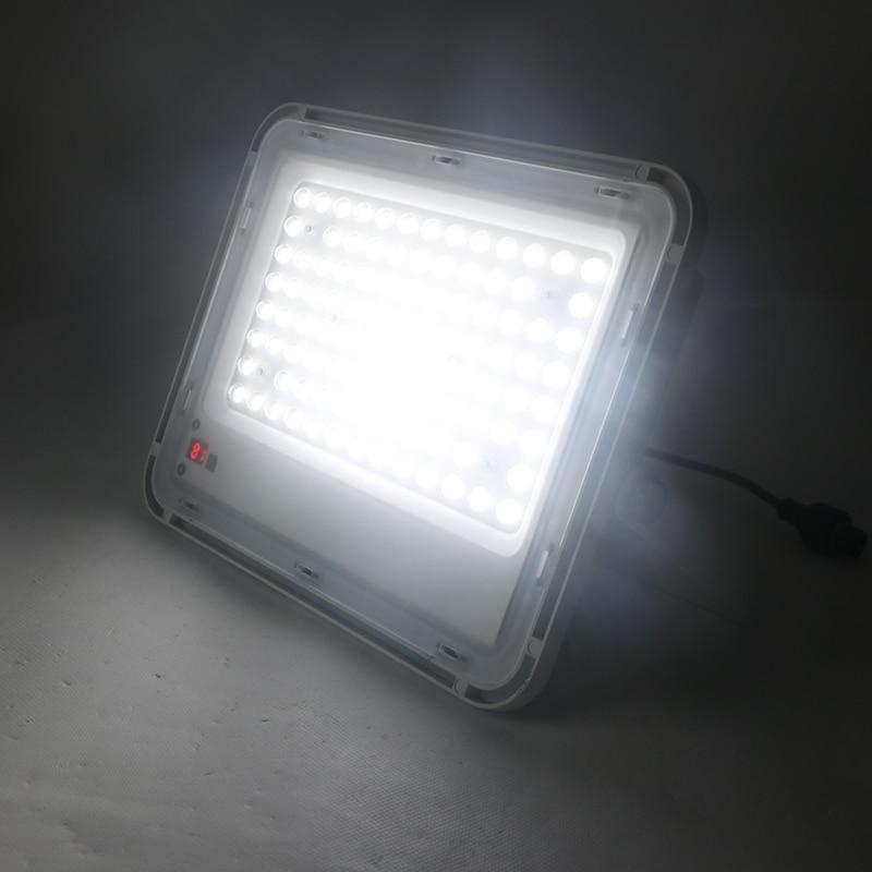 SZYOUMY Led Solar Veiligheid Overstroming Licht 60W 150W 200W Solar Floodllight Outdoor Waterdicht Met Power Display Afstandsbediening controle - 6