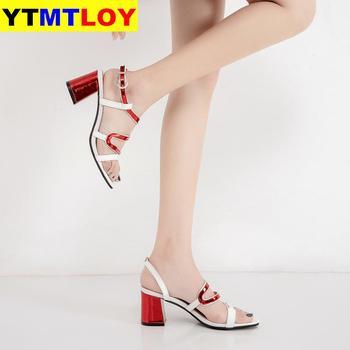 Sandals Women Shoes Silk Strange Style High Heel  1