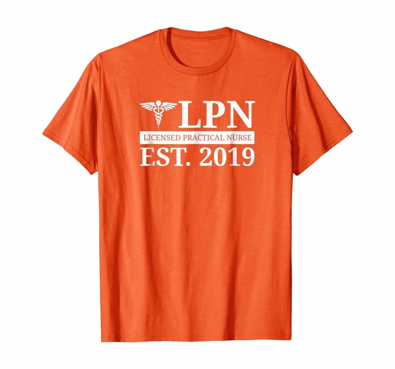 LPN Рубашка Новый медсестра 2020 подарок для выпускника