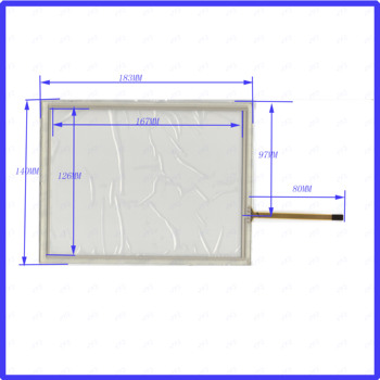 ZhiYuSun wholesale 8056  5PCS/LOT 183*140mm 8inch 4lines resistance screen for car  DVD redio this is compatible 183*140