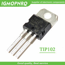 20pcs TIP102 TO-220 Darlington Transistors NPN Darlington new original
