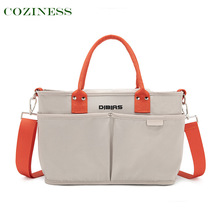 COZINESS Mommy Bag New Fashion Mother Bag Lightweight Small Outing Handbag Shoulder Diagonal Multifunction Waterproof Diaper Bag