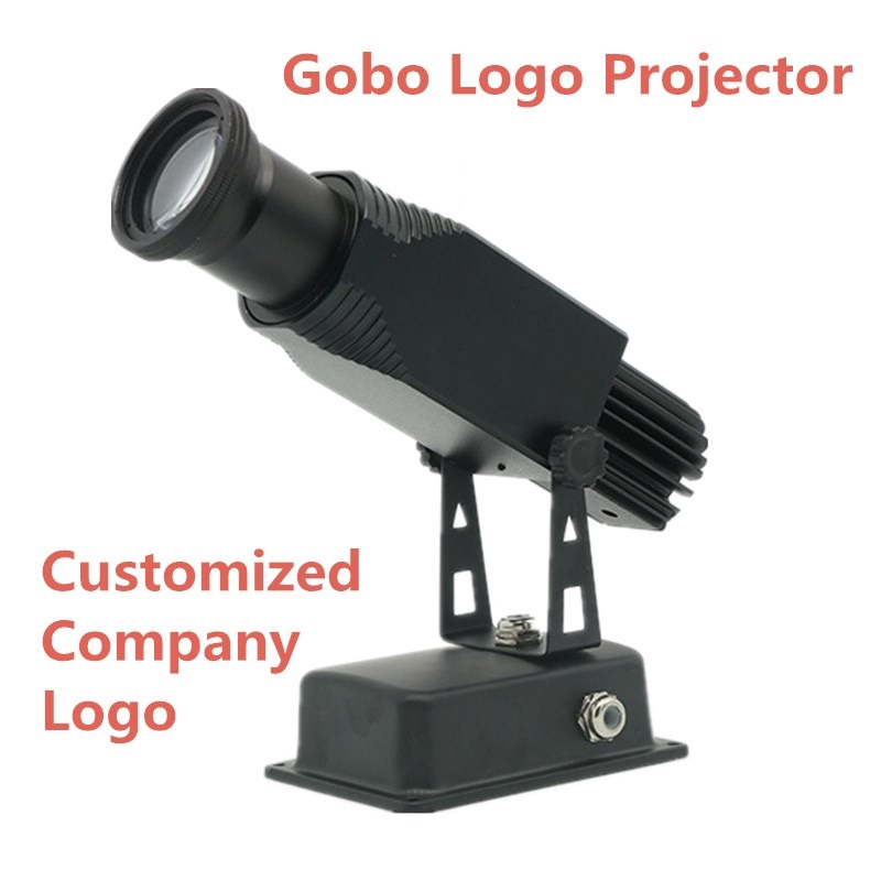 High Quality LED Custom Lmage Gobo Logo Projector 25W 40W 50W Shop Mall Advertising Image Projections Lamp Light Static Restaura