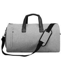 Sportiva Da Viaggio Carry on Attaccatura Valigia Abbigliamento Sacchetto di Affari New con Cinghia di Spalla Borsa ML-999