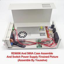 Carcasa S06A para fuente de alimentación Digital carcasa para RD6006 RD6006W convertidor de voltaje solo carcasa de Metal carcasa no contiene fuente de alimentación