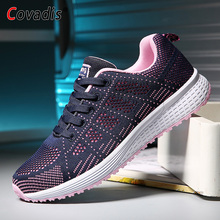 Sneakers Women Sport Shoes Outdoor Lace-Up Breathable Light