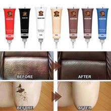 10 Colors Leather Repair Gel Color Repair Home Car Seat Leather Complementary Repair Refurbishing Cream Paste Leather Cleaner