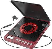 Портативный cd проигрыватель перезаряжаемый 1000 мАч поддержка