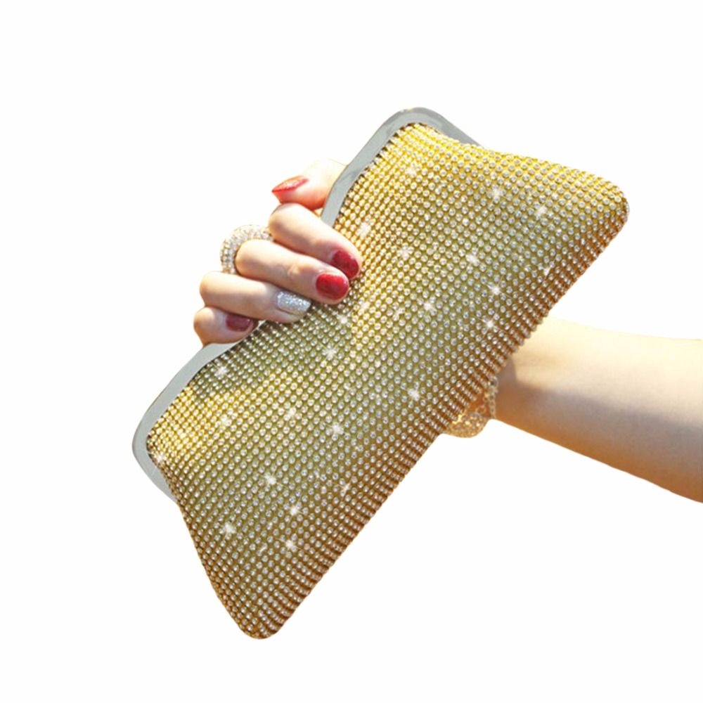 diamantes corrente bolsa de ombro moda feminina