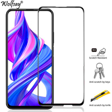 Screen Protector For Huawei Honor 9X Glass Tempered Full Cover Protective Glass For Huawei Honor 9X STK-LX1 Glass Honor 9S 9A 9C y7 2020 screen protector glass for huawei y9s stk l21 stk lx3 stk l22 phones tempered glass huawei y7 2020 protective film y9s