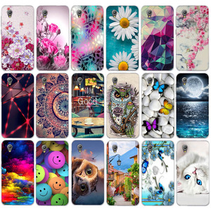 Case For Alcatel 1 5033D Case Soft Silicone TPU Back Cover For Alcatel1 5033 Cover Flowers Cute Animal For Alcatel 1 Phone Cases(China)