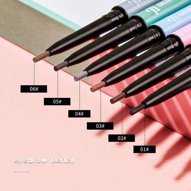 1pcs Eyebrow Pencil  Waterproof Crayon Sourcil  Brow Pencil  Long- Lasting Makeup  Beauty  Lapiz De Ojos Crema Kosmetyki Do Brwi 4