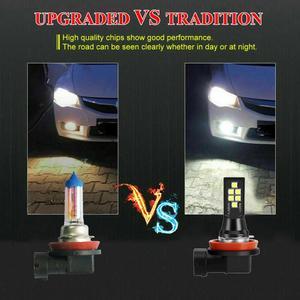 SUHU 2 шт. Canbus H8 H11 Светодиодный Автомобильные противотуманные фары 6000K лм белые безошибочные автомобильные лампы 12 В светодиодный ные фары противотумансветильник ры автомобильные аксессуары|Передние LED-фары для авто|   | АлиЭкспресс