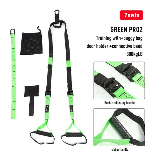 悬挂训练带pro2绿色(承重300kg)