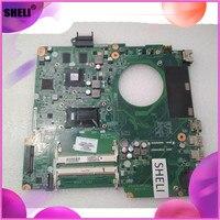 SHELI DA0U82MB6D0 737986-501 737986-001 HP 15-N anakart I7-4500U GT740M 2GB