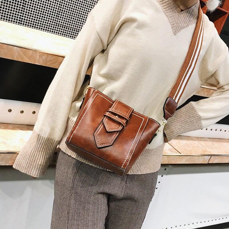 Women Shoulder Bag Crossbody Vintage Leather Designer Handbags High Quality