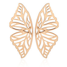 Exaggerated Jewelry New Design Butterfly Animal Earrings For Women Vintage Gold Earrings Personalized Statement Bohemian Brincos(China)