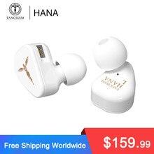 TANCHJIM HANA écouteur la troisième génération DMT dynamique LCP diaphragme Hi Fi dans l'oreille écouteurs casque