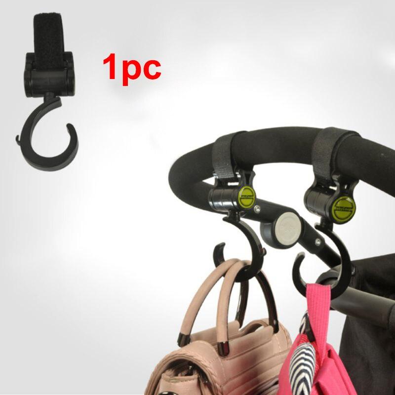 1 шт. вешалка для детской одежды для мам и малышей с Крючки для прогулочных колясок детская коляска Поворот 360 градусов крюк для корзины аксе...