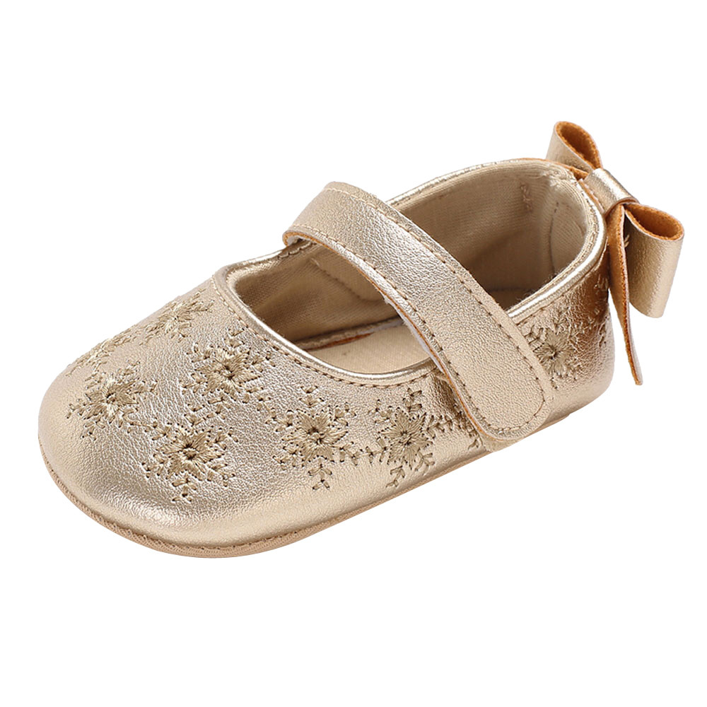 Shoes Crib Soft-Sole Newborn Toddler Infant Girl Baby Fashion Bow Cute And with Charming-Design
