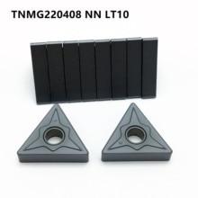New Carbide Insert TNMG220404/08 NN LT10 High Quality Cylindrical Turning CNC Machine Parts Lathe Tool Milling Tools
