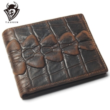 Men  Crocodile Wallets For Mems With Coin Pocket Bifold Credit Card Holder Alligator Classic Retro Leather Wallet Men Purses