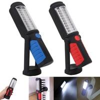 Luz de trabajo Led recargable potente linterna USB portátil lámpara Reparación de coche magnético al aire libre de emergencia de Banco de potencia de luz