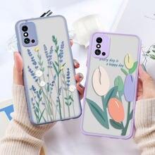 Coque de téléphone Huawei à motif floral, étui de luxe pour P30 Lite P40 Lite P20 Pro Nova 5T Honor 20 9x 8X 9C Y9 Prime 2019 P Smart Z