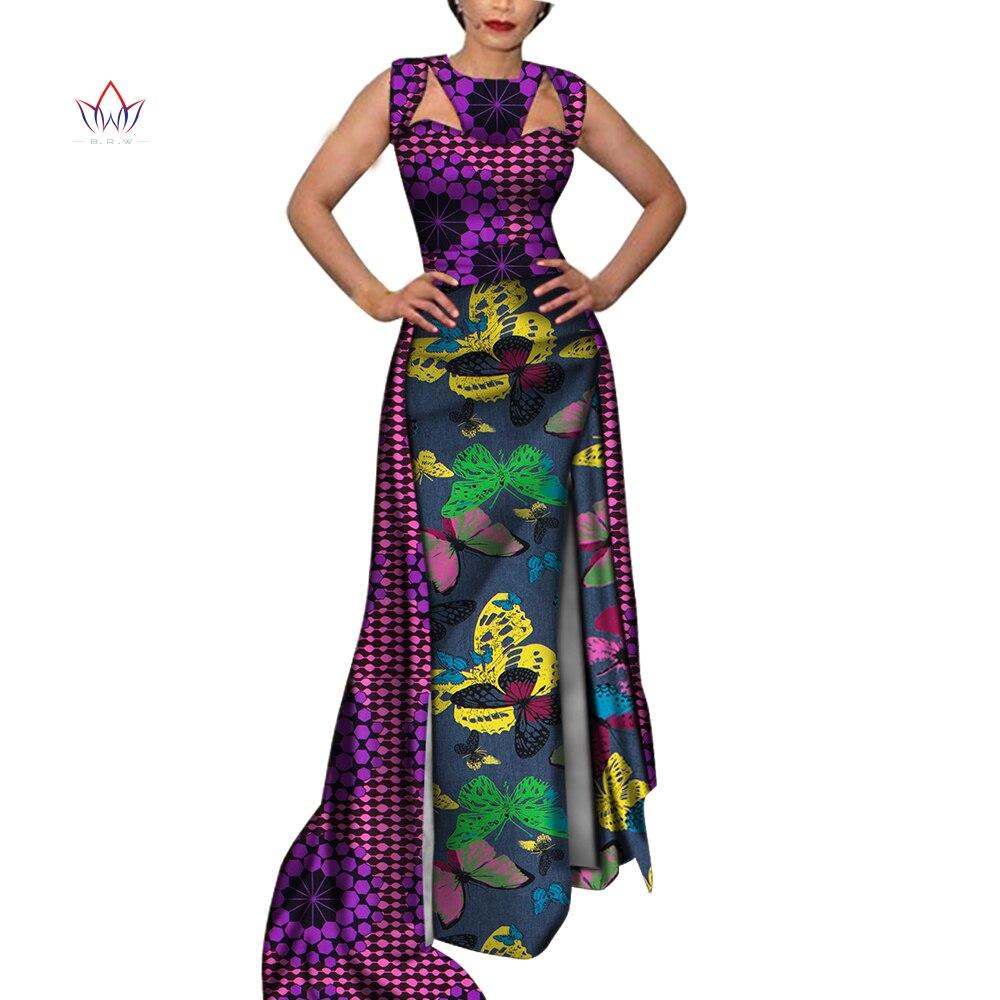 Brw africano vestidos para as mulheres dashiki